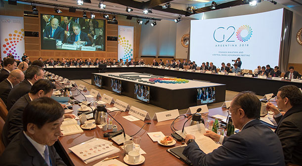 The Global Bank and the G-20
