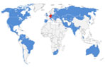 Our Global Reach Map